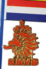 NETHERLANDS HOLLAND KNVB LOGO - FIFA SOCCER WORLD CUP  LAPEL PIN BADGE .. NEW