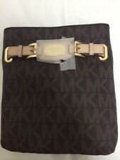 Michael Kors Bag 35F2GHMC3B MK Hamilton Large Crossbody Leather Bag Brown