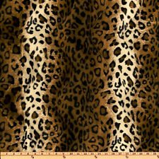 WAVY LEOPARD ANIMAL PRINT VELVET SOFT FUR DRESS PILLOW SOFA COVER UPHOLSTERY