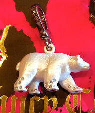 NWOT Juicy Couture 2009 Silver Polar Bear Charm