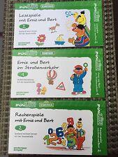 3x Westermann mini LÜK. Ernie und Bert. Vorschule/1.Klasse  @ TOP @ ungebraucht