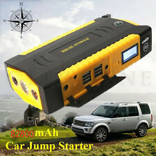 4USB Car Jump Starter 82800mAh Emergency Charger Booster Power Bank Battery
