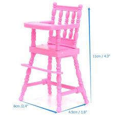 Lovely Rose Chaise Haute Pour Barbie Kelly De Poupée Maison Meubles