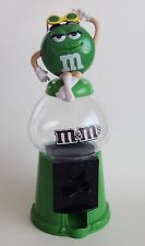 Green M&Ms Candy Dispenser Coin Bank Sassy Sunglasses Boots Gumball Style M&M's