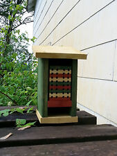 Mason Bee House, Habitat, All cedar, Handmade
