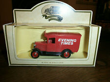 Lledo Promotional Van with Evening Times decals