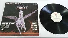 """GRANDES BALADAS HEAVY BARON ROJO ÑU OBUS PANZER LP 12"""" VINYL 1986 CHAPA DISCOS"""