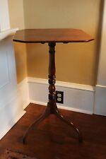 Regency Period mahogany Tilt Top Wine Table with Spider Legs c. 1815