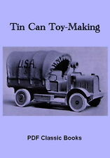 Tin Can Toy-Making How to Make Truck Boat Plans Book CD