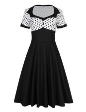 Vintage Retro 50s Rockability Pinup Housewife Party Cocktail Prom Swing Dresses