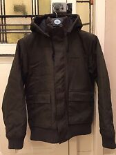 *Genuine *Carhartt jacket- Size Small- Olive green