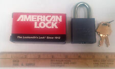 NEW American keyed Lock A10 Series Padlock - ALUMINUM ALLOY BODY, USA MADE!