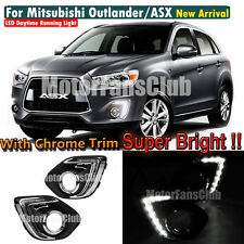 LED Daytime Running Light For Mitsubishi ASX Outlander Sport DRL Fog 2013 2014
