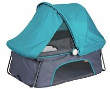 Diono Dreamliner Portable Lightweight Baby Travel Bassinet Sleep Bed Teal NEW