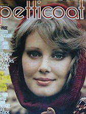 PETTICOAT MAGAZINE 28TH AUG 1971 - VINTAGE FASHION - HYWELL BENNETT