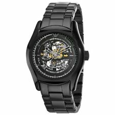 Emporio Armani Men's AR1414 Ceramic Black Skeleton Dial Watch $645.00
