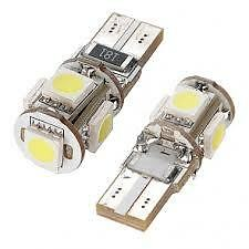 Error Free Canbus 2 X T10 White LED Lights Bulbs W5W 501 Beetle Skoda Yeti Audi