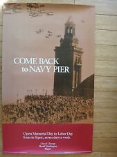 Poster: Come Back to Navy Pier - Chicago - 22 x 36