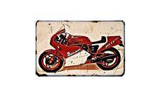Ducati 350 F3 Desmo Motorbike A4 photo Retro Bike