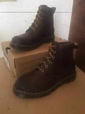 New Dr. Martens Women's Boot Size 9 Dark Brown Brun Fonce Burnished Wyoming