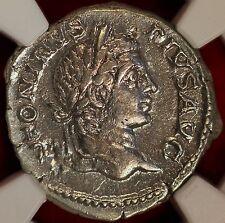 E-Coins Australia AR Caracalla Denarius Ancient Silver Roman Coin NGC certified