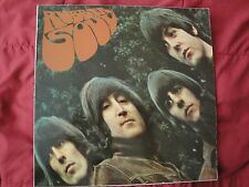 The Beatles RUBBER SOUL 1965 Parlophone PCS 3075 Stereo Vinyl Lp Made in France