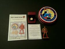 Supermen of America 14K Gold with Diamond Ring Set Overstreet  Superman 2/50