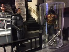 CUSTOM BATCAVE prop ROBIN MEMORIAL display BATMAN V SUPERMAN DAWN OF JUSTICE