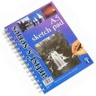 A5 Artist Art Drawing Sketch Pencil Charcoal Pad Book White Paper College Pen