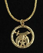 "Masonic Shrine Ladies Pendant with 30"" Chain (LSN-2)"