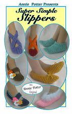 crochet Annie Potter Presents Super Simple Slippers pattern