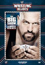 DVD N° 10 WRESTLING HEROES LE PIU' GRANDI STAR BIG SHOW LA NASCITA DI UN MITO