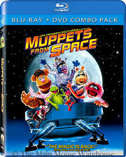 Disney Jim Henson The Muppets from Space Blu-ray DVD 2-Disc Set Kermit Ms. Piggy