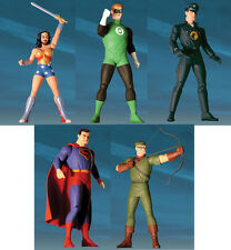 DC DIRECT_The New Frontier Series1_LANTERN_BLACKHAWK_WONDER WOMAN_SUPERMAN_ARROW