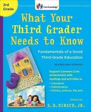 What Your Third Grader Needs to Know (Revised and Updated) NEW PAPERBACK HIRSCH