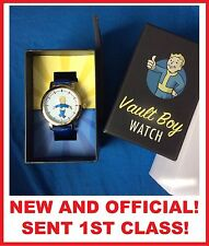 OFFICIAL FALLOUT 3 / NEW VEGAS TRANQUILLITY LANE WATCH - Vault Boy - NEW IN BOX!