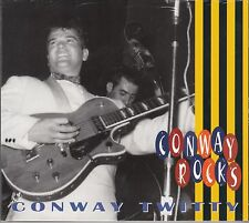 Conway TWITTY-Conway Rocks, CD Bear Family NUOVO