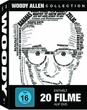 WOODY ALLEN COLLECTION (20 Filme auf 20 DVDs) NEU+OVP