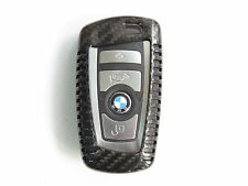 Pinalloy Real Pure Carbon Fiber Remote Key Cover Case Shell BMW 1 3 5 7 X3 X5