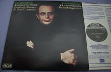 SXL 6823 FRANCK Symphony D Minor MAAZEL ROGE Holland DECCA NB