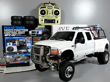 Custom Tamiya Ford F-350 Crew Cab Dually High Lift MFC02 light sound unit Futaba