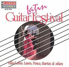 FREE US SHIP. on ANY 2 CDs! NEW CD : Latin Guitar Festival