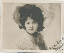 B9463 1904 PHOTO POSTCARD NOVELTY MIDGET POSTCARD ACTRESS FILM STAGE RUBY RAY