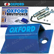 Oxford Motorcycle Motor Bike High Security Strong Brute Force Ground Wall Anchor