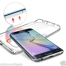 Slim Transparent Crystal Clear Hard TPU Case Cover For Samsung Galaxy S6 Edge