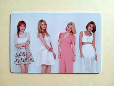 SNSD Girls' Generation 2016 GREETINGS CALENDAR OFFICIAL PhotoCard - Group C