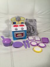 Magic Reveal Chefs Oven Pretend Kitchen Set Cooking Fun