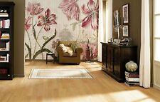 NON-WOVEN Photo Wallpaper Wall Mural MERIAN FLOWERS TEXTURES  368x254cm  NG