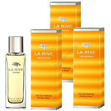 3x90ml = 270ml !!! LA RIVE FOR WOMAN Eau De Parfum Natural Spray !! TOP HIT !!