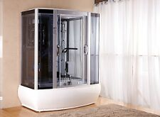 Kokss Steam shower room 9007WS whirlpool tub 6 body massage jets